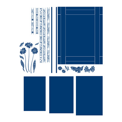 £12.99 • Buy New Tattered Lace Vista Window Cutting Die 443688