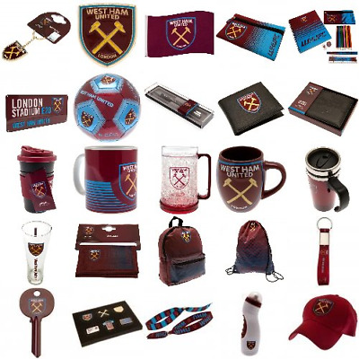 West Ham United FC Hammers Official Merchandise Gift Ideas Birthday Fathers Day  • 5.99£