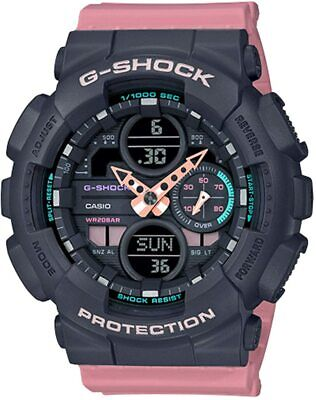$ CDN120.46 • Buy Casio G-Shock GMAS-140-4A Analog-Digital S-Series Resin Women's Watch