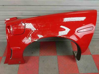 $325 • Buy 2006-2013 C6 Corvette Z06 - LH Quarter Panel Rear Fender W/ Trim Red CRACKS