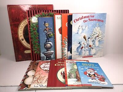 $ CDN39.99 • Buy Childrens Christmas Book Bundle Of 12 - Curious George, Grinch, Norman Rockwell