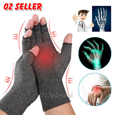 AU8.95 • Buy Arthritis Gloves Compression Support Hand Wrist Brace Relief Carpal Tunnel Pain