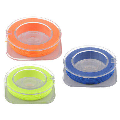 3pcs Cotton Whipping Wrapping Thread For Fishing Rod Guides Rings 55 Yards • 5.21£