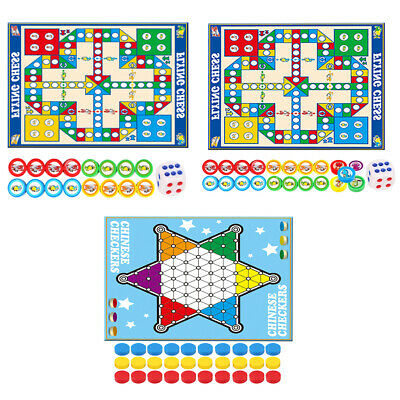 Giant Ludo Game Chinese Checkers Travelling Educational Toys Birthday Gift • 11.22£