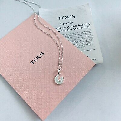 $45 • Buy 918442500 Authentic Brand New Tous Silver Nocturne Necklace