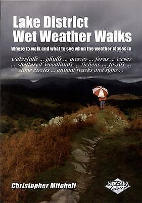 Lake District Wet Weather Walks By Chris Mitchell (Paperback, 2010) • 8£