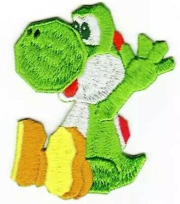 AU10.55 • Buy YOSHI Iron On / Sew On Patch Embroidered Badge Yoshi's Crafted World