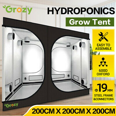 AU309 • Buy 2x2x2M HYDROPONICS REFLECTIVE INDOOR GROW TENT FOR GROW SYSTEM LED LIGHTING KIT