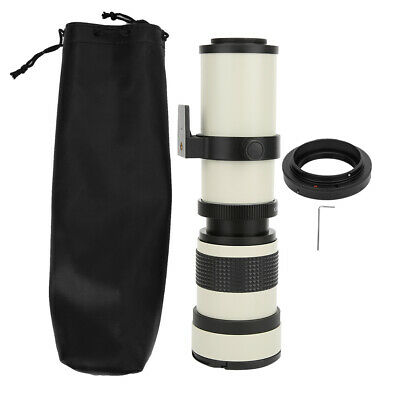 £80.70 • Buy 420-800mm F/8.3-16 Manual Focus Telescope Zoom Lens For Canon EF-S Mount Camera