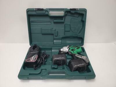Hitachi WH14DAF2 14.4v Portable Impact Drill Driver Kit With Case And Charger • 65.61£