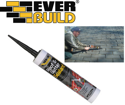 £4.50 • Buy Everbuild Roof & Gutter Sealant 295ml Adheres To All Materials  Next Day