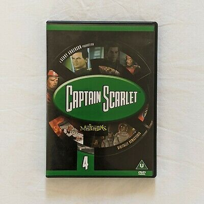 Captain Scarlet (DVD) - Brand New • 5£