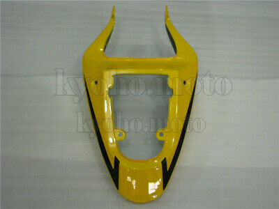 $155 • Buy Rear Tail Cowl Fairing Fit For SUZUKI 2001-2003 GSXR 600 750 K1 Yellow Black ABS