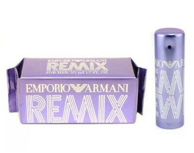 $49.99 • Buy EMPORIO ARMANI REMIX Perfume FOR HER 50ml-1.7oz EDP Spray -DISCONTINUED UNSEALED