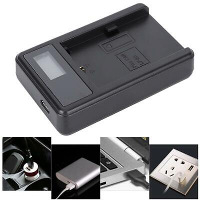 SEIVI LP-E6 Camera Battery LCD Charging Display USB Charger Fit For Canon EOS • 6.10£