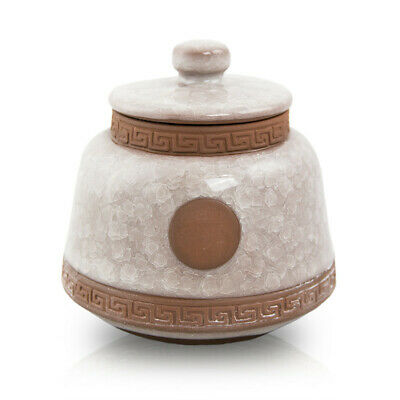 $29.95 • Buy Ceramic Cremation Urn For Ashes - Small  White