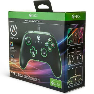 AU84.95 • Buy PowerA Spectra Enhanced Wired LED Controller (Xbox One/PC) NEW & SEALED