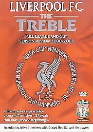 £22.99 • Buy Liverpool FC: The Treble - League And Cup Season Review 2000/2001 [DVD]