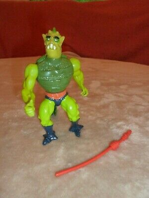 $12.95 • Buy Vintage Master Of The Universe He-man~~whiplash & Weapon~~1983