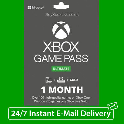 $5.05 • Buy Xbox Live 1 Month Gold & Game Pass Ultimate (2 X 14 Day Pass) - INSTANT DELIVERY