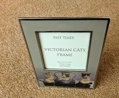 Past Times Victorian Cats Frame New • 10£