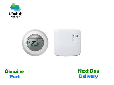 Honeywell Y87RF2024 Single Zone Mobile Compatible Thermostat, 230 V, White/Grey • 89.99£