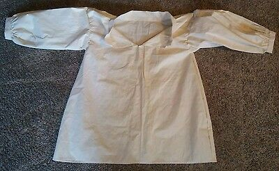 $50 • Buy Hand Stitched Colonial 18th Century Unbleached Cotton Pirate Shirt 3X F&I SCA