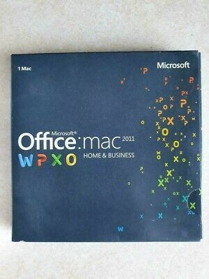 AU80 • Buy Microsoft Office (Home And Business Edition) 2011 [Mac]