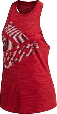 £13.99 • Buy New Adidas Workout Vest Tank Top - Ladies Womens Gym Training Fitness - Red