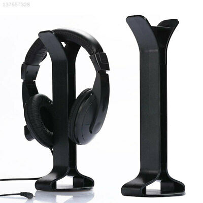 AU16.33 • Buy 2E6F Durable Black Headphone Stand Earphone Holder Desktop Display Support