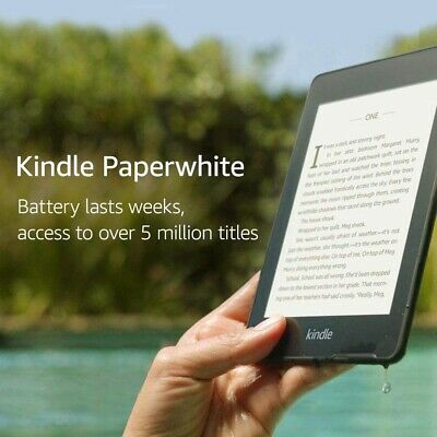 AU459.99 • Buy Kindle Paperwhite – Waterproof, Battery Lasts Weeks, Access To Over 5 Million Ti