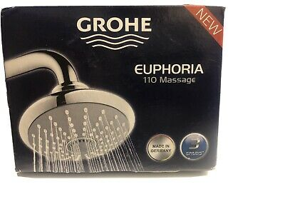Grohe Euphoria 110 Massage 3-Spray Showerhead • 56.97£