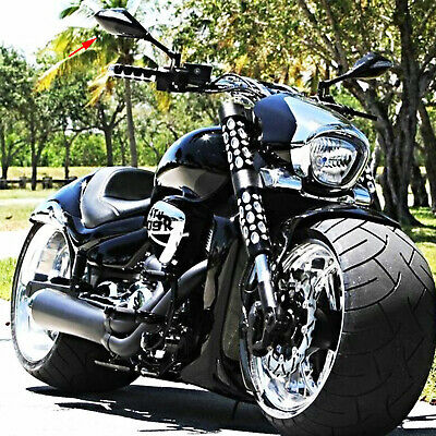 $43.44 • Buy For Suzuki Boulevard M109R LED Turn Signal Integrated Motorcycle Mirrors BLACK