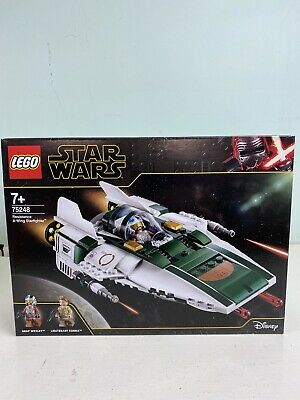 AU69.99 • Buy LEGO 75248 Star Wars Resistance A-Wing Starfighter - Brand New