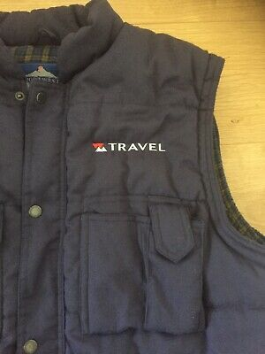 National Express Old Travel West Midlands Bodywarmer Just Says Travel On It • 1.04£