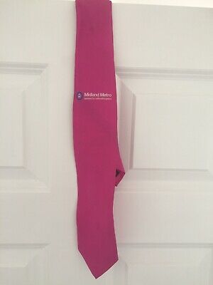 National Express / Midland METRO Tie A Rare Pink Edition • 0.99£