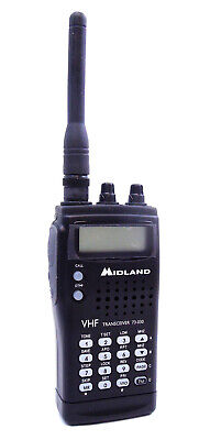 $ CDN269.11 • Buy Midland 73030 - Palm Size 2 Meter Vhf Transceiver, 72 Memory Channels, 6 Type...