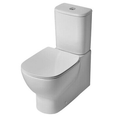 Ideal Standard Tesi Back To Wall Close Coupled Toilet With Cistern Standard Seat • 315.95£