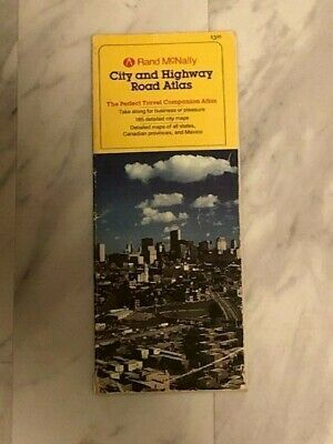 All U.s. City And Highway Road Atlas Book - Old Book  • 10.69£