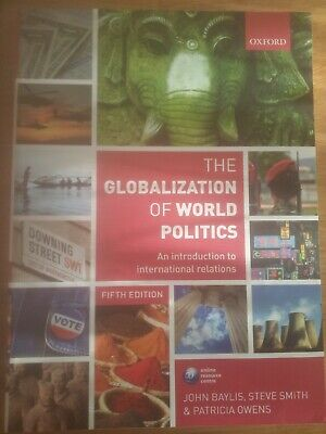 £10.50 • Buy The Globalization Of World Politics: An Introduction To Intern..(Fifth Ed) - New