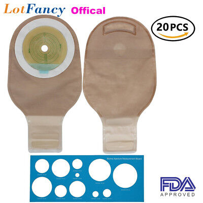 $28.99 • Buy LotFancy Drainable Pouches Ostomy Bag Closure For Colostomy Ileostomy Stoma Care