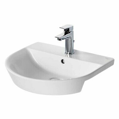 Ideal Standard Concept Air Arc Semi - Countertop Basin 500mm Wide 1 Tap Hole • 179.95£