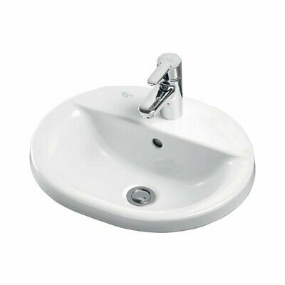 Ideal Standard Concept Oval Countertop Basin 480mm Wide 1 Tap Hole • 172.95£