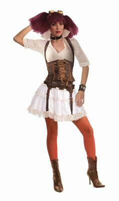 $46.99 • Buy Steampunk Sally Costume WCorset Adult Standard