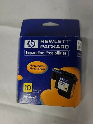 $9 • Buy HP 10 C4803A Printhead YELLOW For: HP 2000C, 2500C Color Printers