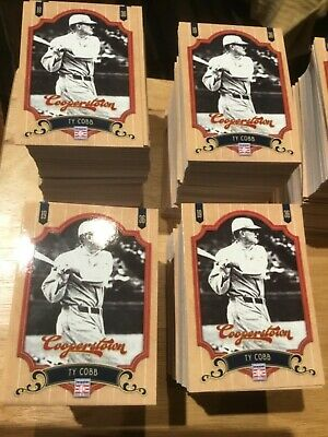 $24.99 • Buy Lot Of 3 2012 Panini Cooperstown Baseball Complete Base Sets 450 Cards