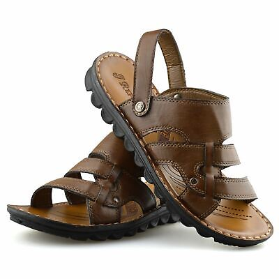 Mens New Slip On Gladiator Sandals Walking Summer Beach Clogs Mules Shoes Size • 16.98£