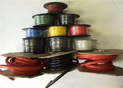 50M Meter Roll 8.75Amp Single Core Wire Red Auto Cable Car Loom Flex 14 Strand • 14.29£