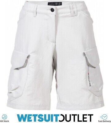 Musto Womens Evolution Crew Bermuda Shorts PLATINUM Breathable Quick Drying • 46.43£