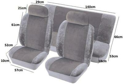 $61.14 • Buy Grey Mechanic Anti Dirt Seat Cover Protection From Grease And Grime Of Work